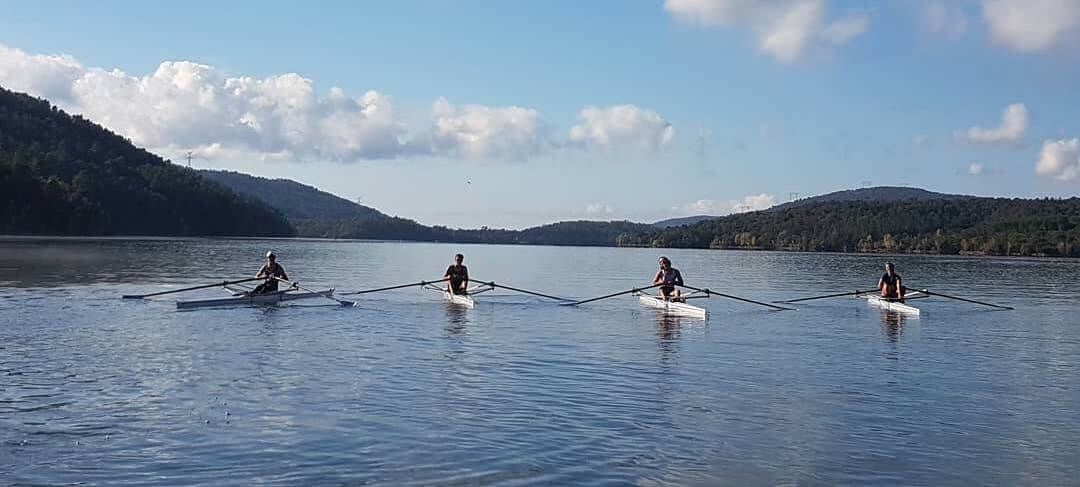 Stage hivernal d'aviron